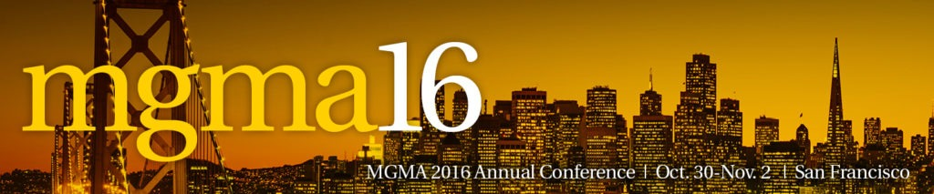 MGMA16 Conference